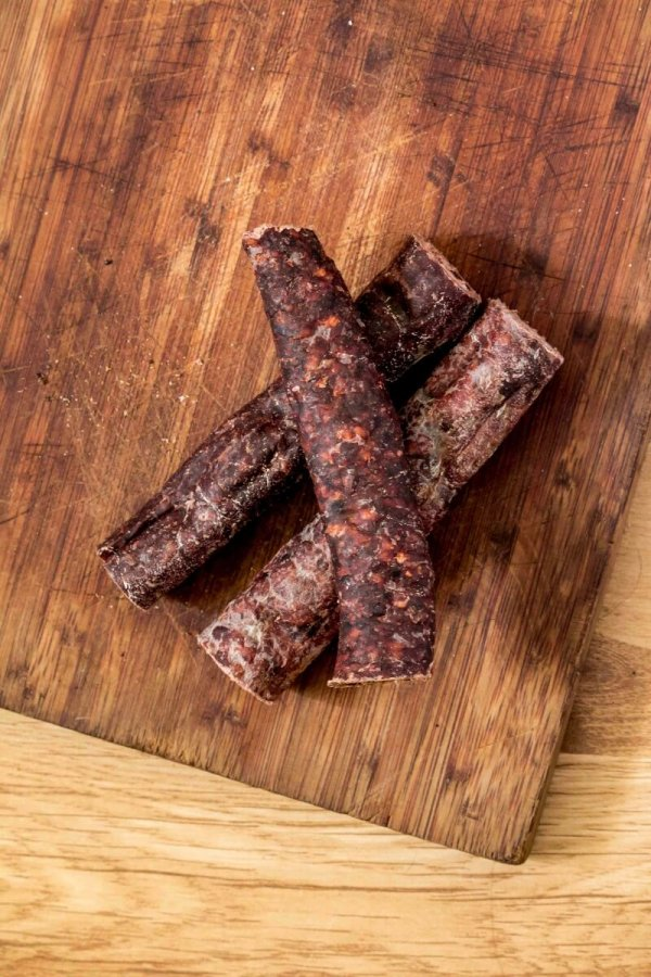 VONDIS Dry Sausage Thick- A chewy dry treat for slow chewers-0