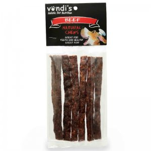 VONDIS Dry Sausage Thin - A chewy dry treat for slow chewers-184