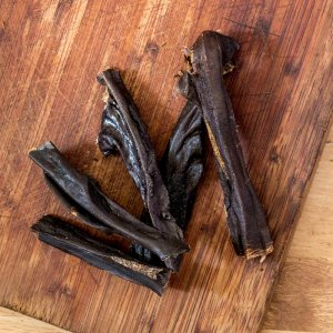 Beef Liver Biltong  – Thicker strips of dried, raw liver-0