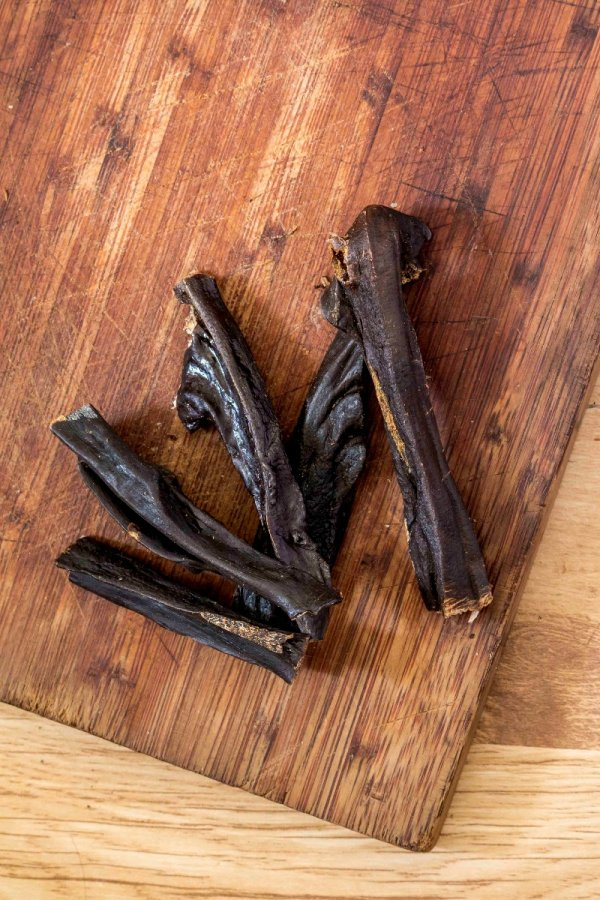 Beef Liver Biltong - Thicker strips of dried, raw liver-0