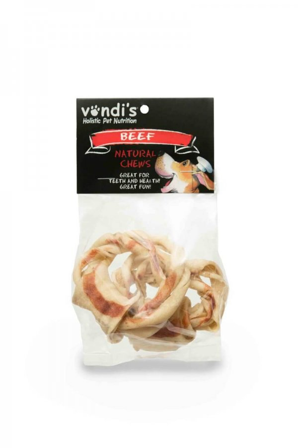 Chew Twisted Ring- A hard long-lasting chew-170