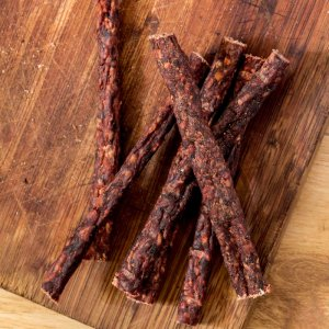 Dry Sausage  – A chewy dry treat for slow chewers-0