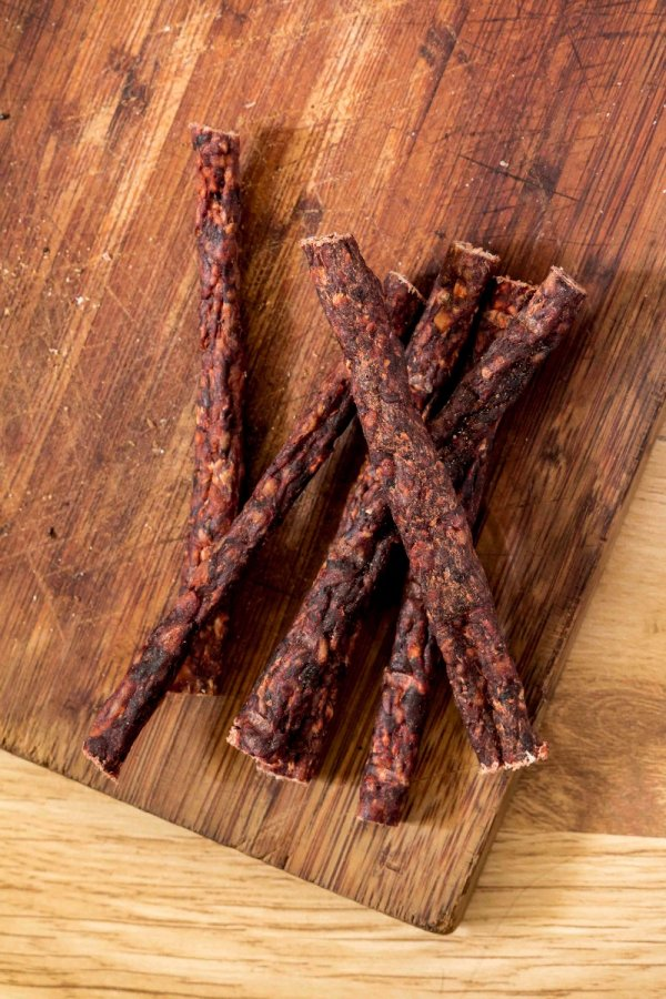 Dry Sausage - A chewy dry treat for slow chewers-0
