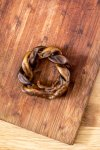 Rawhide Twisted Ring - A long-lasting hard chew-0