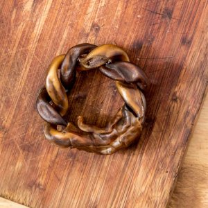 Rawhide Twisted Ring  – A long-lasting hard chew-0
