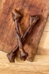 Game Rawhide Wriggle Bone Large - A long-lasting hard chew-0