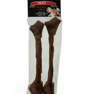 Game Rawhide Wriggle Bone Large - A long-lasting hard chew-126