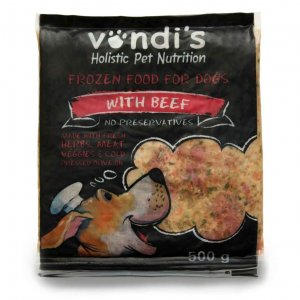 Vondi's Natural Beef & Tripe Dog Food-0