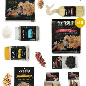 VONDIS Puppy Supplement Value Pack WITH FOOD (Cpt/Jhb/Pta)-0