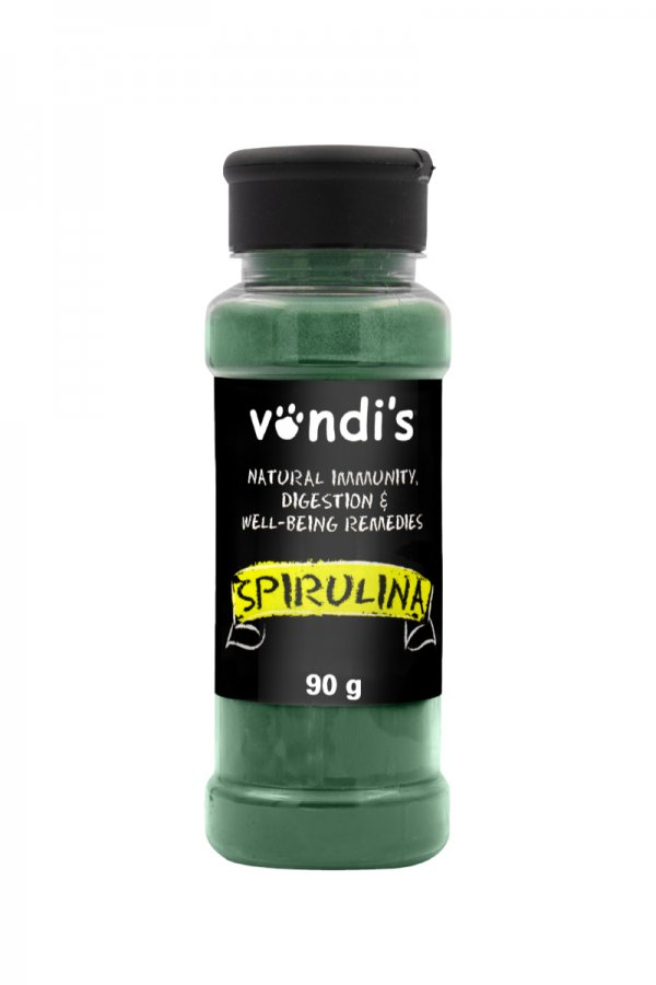 spirulina bottle