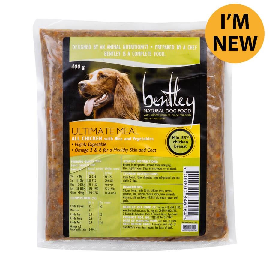 Bentley Ultimate High Protein Dog Food 400g-0